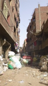 street in garbage city