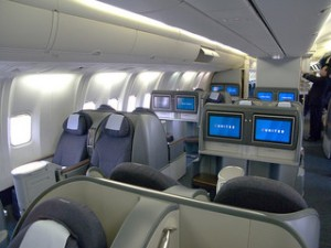 Business class section
