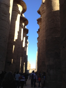 Looking into Karnak Temple