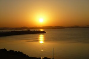 Sunrise in Aswan, Egypt
