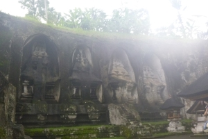 Gunung Kawi - Temple Carvings in stone.