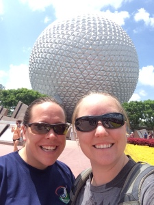First Day at Epcot